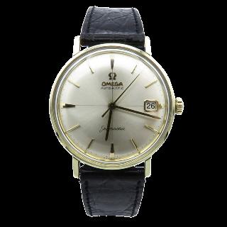 Montre Omega Seamaster métal doré Vers 1961. Automatique diamètre : 34 mm