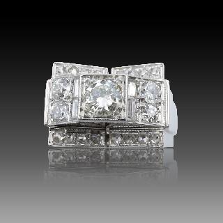 Montre Bulgari Assioma 36mm Dame Or rose 18k et 3.52 Cts de Diamants.