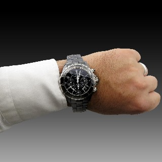 "Montre Longines Homme ""Grande Vitesse"" Chrono Automatique de 2009. 41 mm."