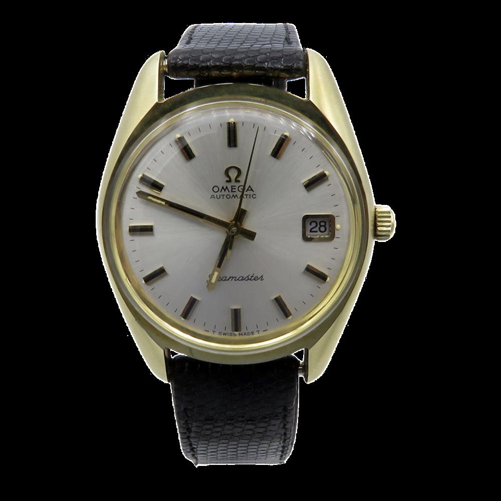 Montre Omega Seamaster Métal doré de 1961. Stock neuf. 35 mm. Automatique. ref : 166.067