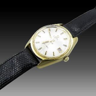 Montre Omega Seamaster Métal doré de 1961. 35 mm. Automatique. ref : 166.067