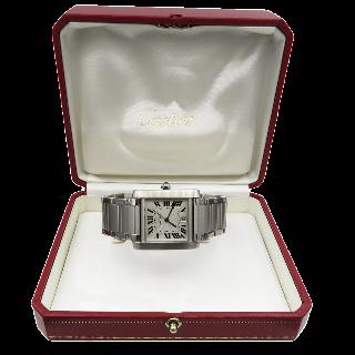 """Bague Stern Or gris 18k modèle """"Code"""" Diamants, Taille 53 de 2009."""