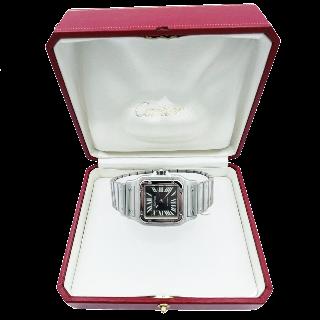 """Boucles d'oreilles Cartier """"Perles de Diamant"""" en  Or gris 18 k de 1999 avec Diamants."""