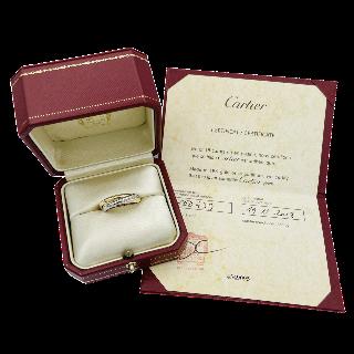 Solitaire en or gris 18k et platine avec Diamant 1/2 taille de 5,80 Cts M-P1 + 0.50 Cts.