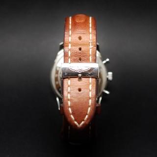 Montre Breitling Navitimer en acier automatique de 2010. Boite et papiers . 41 mm