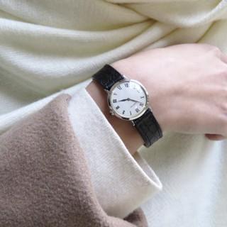 """Bague Chanel en Or gris 18K """"Profil Camélia"""" de 2014 avec Diamant . Taille 51. Full set"""