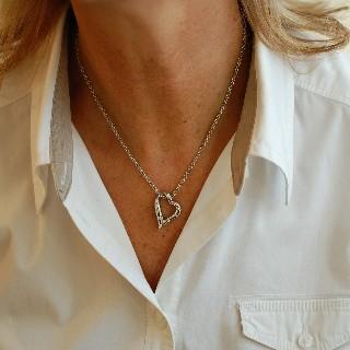 Collier Chopard Happy Diamonds Or 18k et Diamants