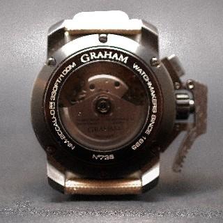 Montre Graham Chronofighter Oversize Acier 47 mm vers 2013 Automatique.