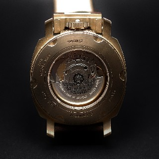 """Montre Anonimo """"Militare"""" 43mm Bronze Automatique Collection 2013. Destockage Neuf."""