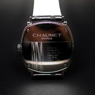 Montre Chaumet Dandy Joaillerie Or gris 18k Diamants mécanique de 2015.
