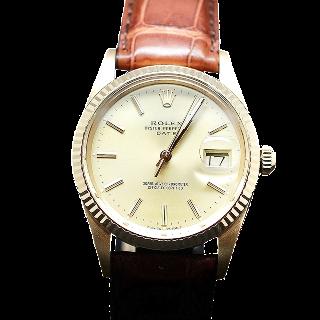 Montre Rolex Oyster Date Or jaune 18k de 1986. Ref: 15038. Automatique.