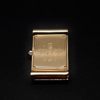 Montre Boucheron Dame Petit Modèle en Or Jaune 18k Vers 2000 quartz .