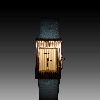 Montre Boucheron Reflet Dame Petit Modèle en Or Jaune 18k Vers 2000 quartz .