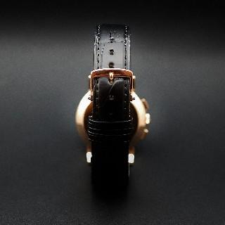 Montre Jaeger Vintage Chronographe Or rose 18k Mécanique Vers 1951.