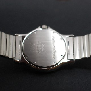 """Montre Cartier homme """"Santos"""" Octogonale en or et acier Quartz Vers 1990."""