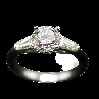 Solitaire Diamant de 1.57 Cts I-VS1 . Or 18 Cts.