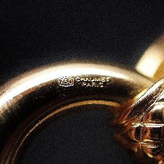 Boucles d'oreilles Créoles Chaumet Clips en or 18k vers 2000.