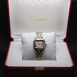 """Montre Cartier Homme """"Santos"""" Octogonale en acier Automatique Vers 1985."""