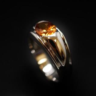 "Bague Boucheron ""Axelle"" Diamants Or 18k Taille 51"