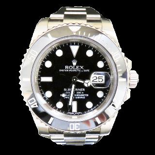 Montre Rolex Submariner Céramique Acier Ref : 116610 de 2012. Boite - Papiers