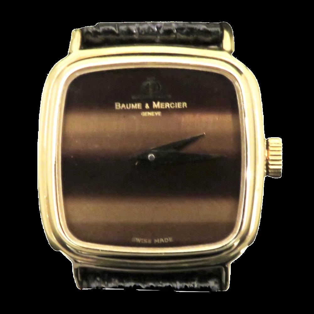 Montre Baume & Mercier Dame  Or Jaune 18k Vers 1970-1975 Mécanique