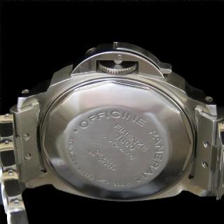 Montre Panerai Luminor Marina Acier 40 mm Automatique.