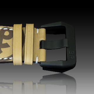 Montre Bell & Ross Acier BR-03-94 Héritage PVD noir mat Chronographe Automatique de 2016. Full set.