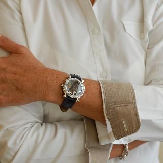 Montre Chopard Happy Sport Dame Acier Diamants Série Limitée.