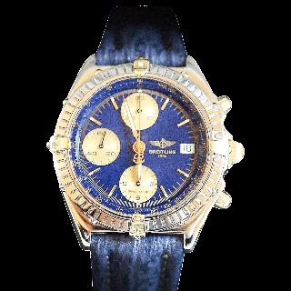 Montre Breitling Chronomat Or et Acier Vers 1990 Automatique