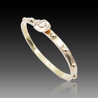 """Bracelet jonc ouvrant Vuitton """"Clou"""" or rose 18k . Poids : 31,20 Grs.Taille 16"""