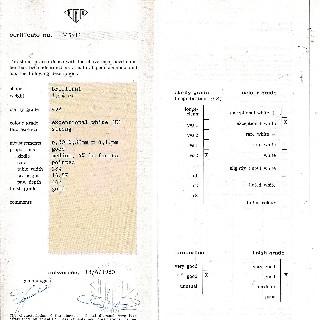 Puces d'oreilles Or gris 18k avec 2 Diamants brillants 1.13 Cts et 1.09 Cts. J-SI2-P1