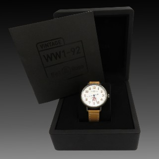 Montre Bell & Ross WW1-92 Guynemer (Limited 500 ex) Automatique . Full Set 2017