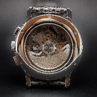 Montre Blancpain Leman Homme acier Quantième Complet Phase de Lune de 1998.