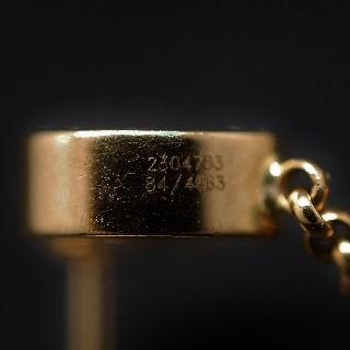 Boucles d'oreilles Chopard Happy Diamonds Or jaune 18k Diamants